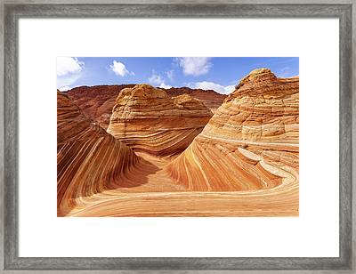 The Wave I Framed Print by Chad Dutson