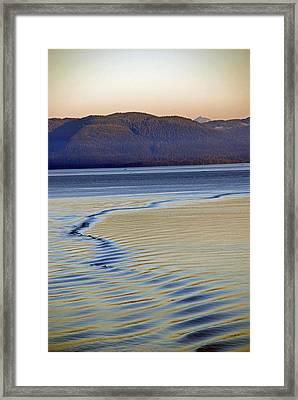 The Waves Framed Print by Carol  Eliassen