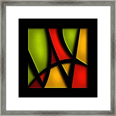 The Way - Abstract Framed Print by Shevon Johnson