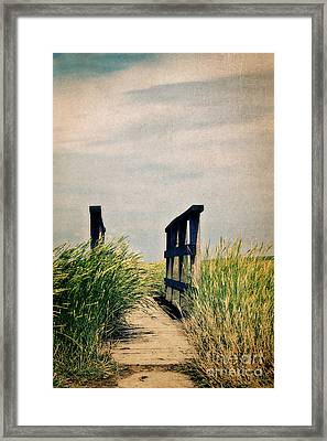 The Way Framed Print by Angela Doelling AD DESIGN Photo and PhotoArt