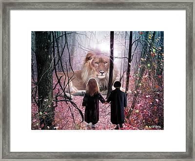 The Way Framed Print by Bill Stephens