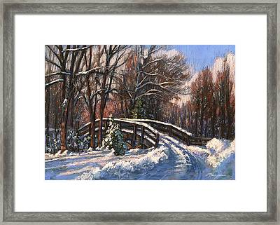 The Way Home Framed Print by L Diane Johnson