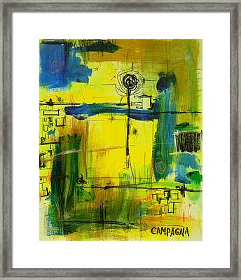 The Way Of It              Framed Print by Teddy Campagna