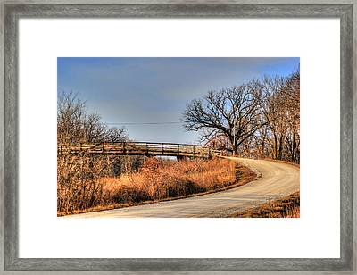 The Way Framed Print by Thomas Danilovich