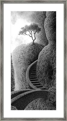 The Way To Summer Framed Print by Mark Reep