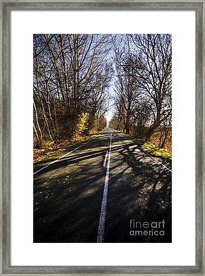 The Way To Swansea Framed Print by Jorgo Photography - Wall Art Gallery