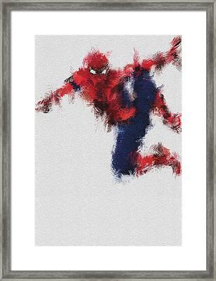 The Web Framed Print by Miranda Sether
