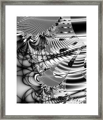 The Web We Weave Framed Print by Wingsdomain Art and Photography
