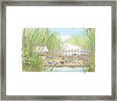 The Wedding Party Framed Print by Brambly Hedge