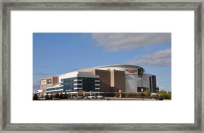 The Wells Fargo Center - Philadelphia  Framed Print by Bill Cannon
