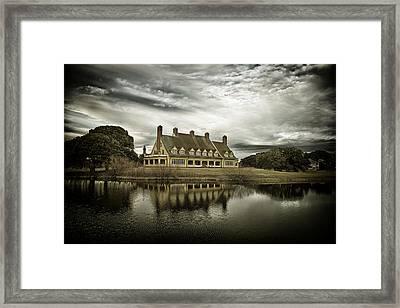 The Whalehead Club Framed Print by Mark Wagoner