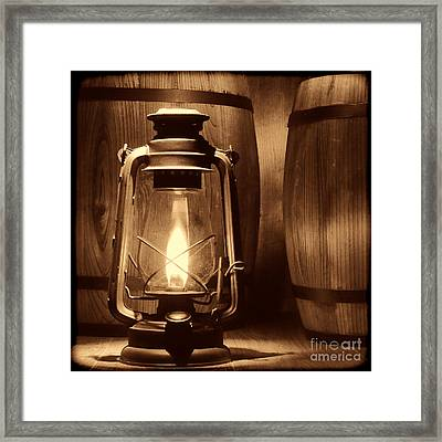 The Whiskey Reserve Framed Print by American West Legend By Olivier Le Queinec
