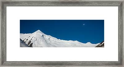 The White Summit Framed Print by Konstantin Dikovsky