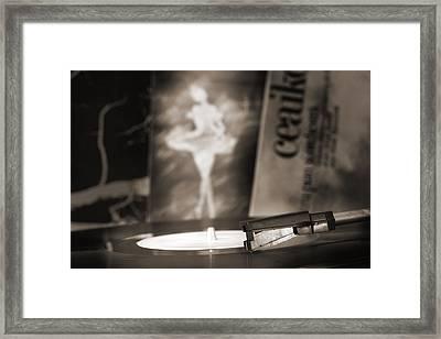 The White Swan  Framed Print by Floriana Barbu