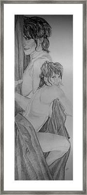 The Wife Framed Print by Dean Herbert