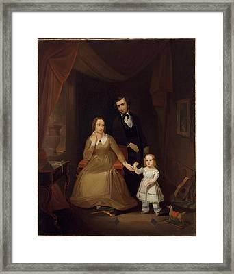 The Williamson Family Framed Print by John Mix