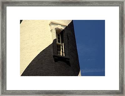 The Window Framed Print by Susanne Van Hulst