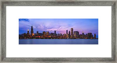 The Windy City Framed Print by Scott Norris