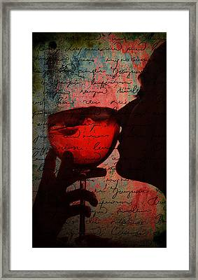 The Wine Diaries Framed Print by Greg Sharpe
