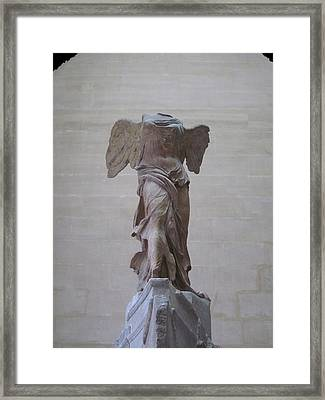 The Winged Victory Of Samothrace Number 1 Framed Print by David Lee Guss