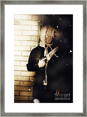 The Winter Slasher Framed Print by Jorgo Photography - Wall Art Gallery