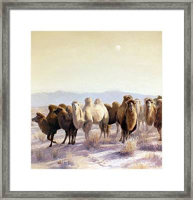 The Winter Solstice Framed Print by Chen Baoyi