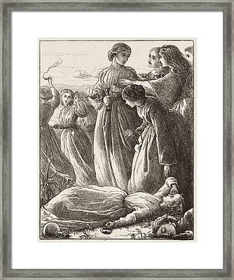 The Wise Virgins Framed Print by MotionAge Designs