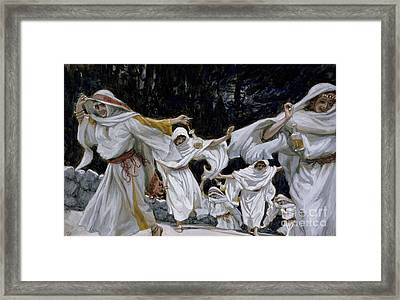 The Wise Virgins Framed Print by Tissot