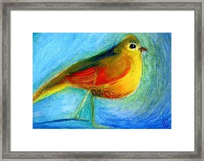 The Wishing Bird Framed Print by Nancy Moniz