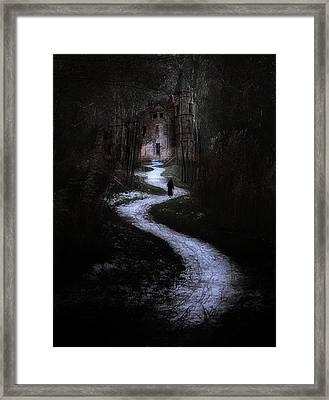 The Witch's House Framed Print by Hazel Billingsley