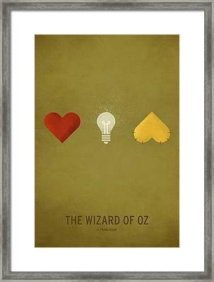 The Wizard Of Oz Framed Print by Christian Jackson