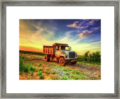 The Workhorse Framed Print by Lois Bryan