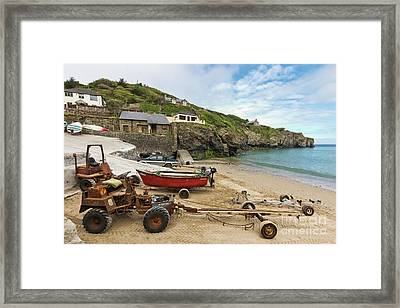 The Workhorses Of St Agnes Framed Print by Terri Waters