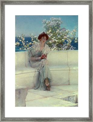 The Year's At The Spring -  All's Right With The World Framed Print by Sir Lawrence Alma-Tadema