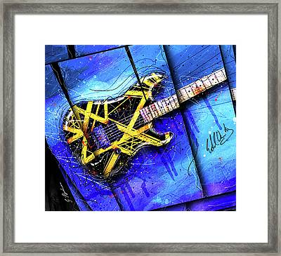 The Yellow Jacket_cropped Framed Print by Gary Bodnar