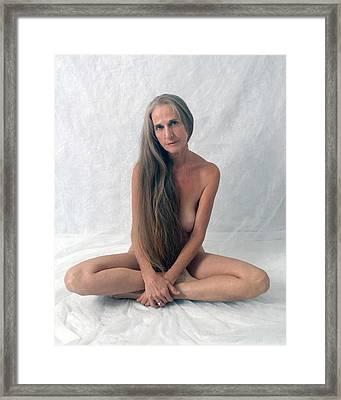 The Yogi Framed Print by N Taylor