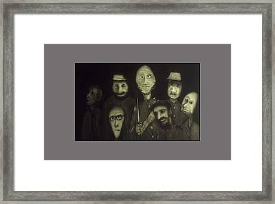 The Zehava Seven Framed Print by Jeff Geen
