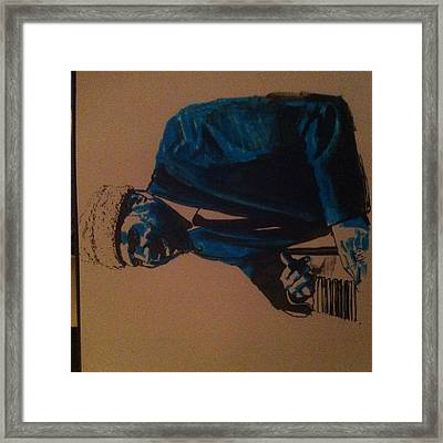 Thelonius Monk Framed Print by Cormac Kenny