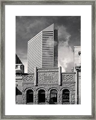 Then And Now Framed Print by Royce Howland