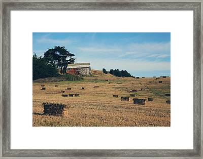 There All Along Framed Print by Laurie Search