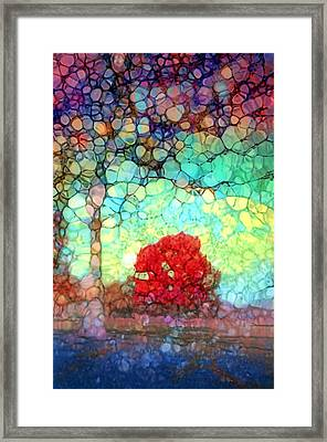There Is Room For You In These Broken Arms Framed Print by Tara Turner
