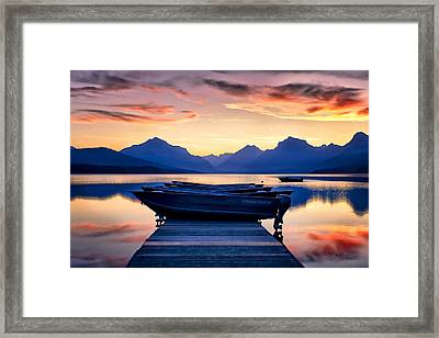 There's No Place Like Home Framed Print by Renee Sullivan