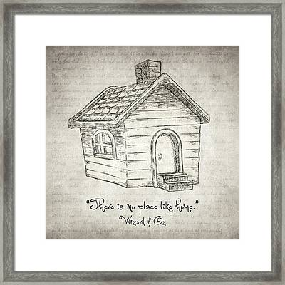 There's No Place Like Home Framed Print by Taylan Soyturk