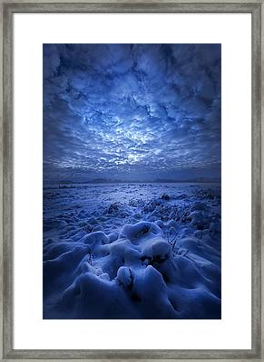 There's No Point Escaping Framed Print by Phil Koch
