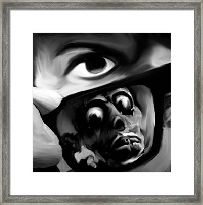 They Live Framed Print by Jeff DOttavio