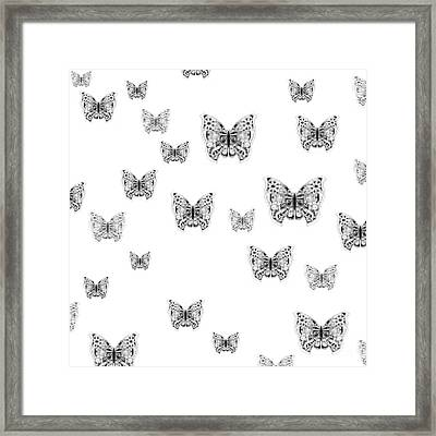 They Might Be Butterflies Framed Print by Helena Tiainen