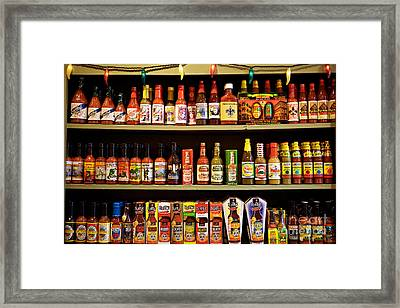 Things Get Hot In New Orleans Framed Print by Kim Fearheiley