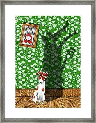 Think Big Framed Print by Andrew Hitchen