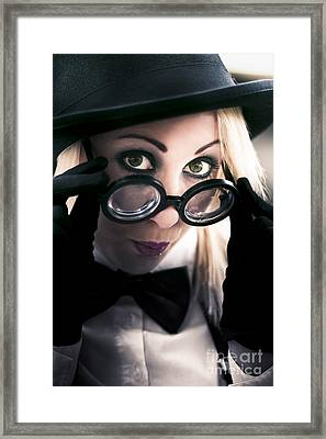 Thinking And Reflecting Framed Print by Jorgo Photography - Wall Art Gallery