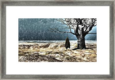 Thirty Pieces Of Silver Framed Print by Bob Orsillo